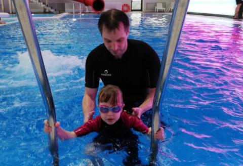 Коррекционные занятия в воде для детей с ОВЗ