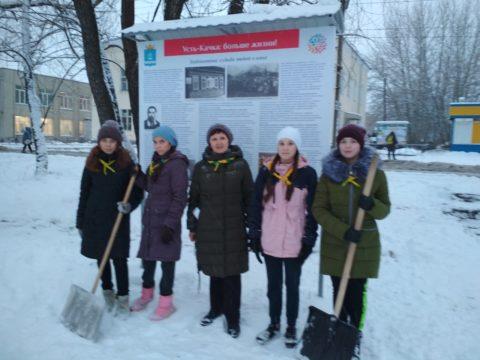 Скауты из отряда «Ориентир» взяли шефство над Историческим парком Усть-Качки