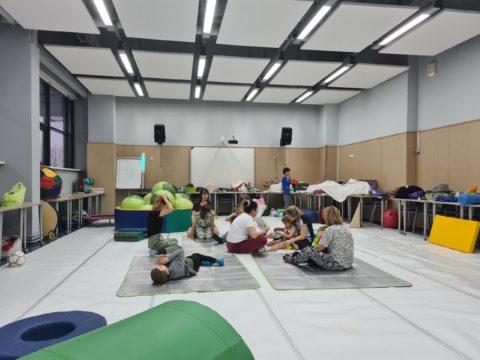 Завершился первый курс занятий для детей с ОВЗ!