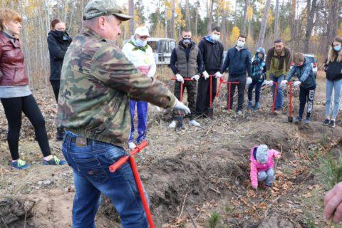 Дорогие Тольяттинцы! Мы с партнерами открыли осенний сезон восстановления леса